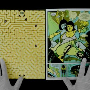 Jiro book silkscreen