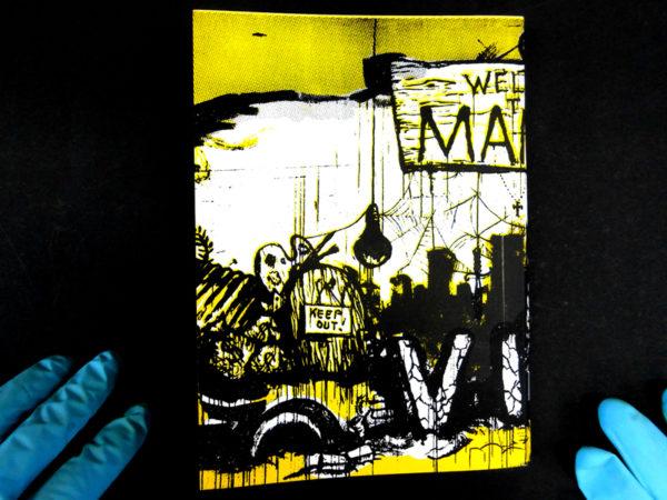 book silkscreen manila vice