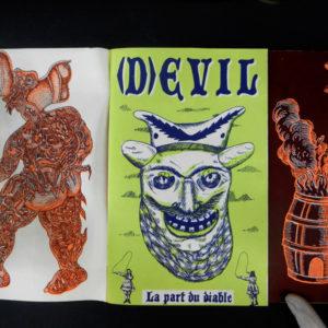 devil serigraphie