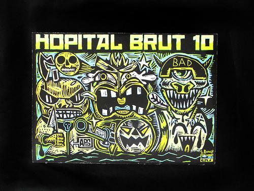 hopital brut cover
