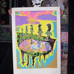 poster serigraphie goldberg