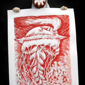 remy planche3D meduse